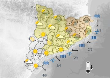 El otoño asomará en Cataluña tras las lluvias previstas para esta noche