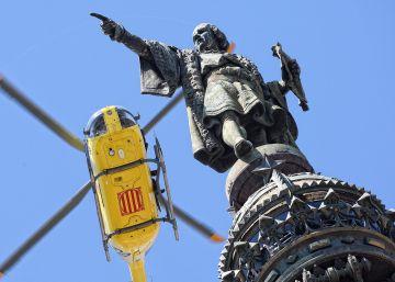 La CUP pedirá la retirada del monumento a Colón en Barcelona