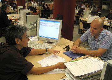 El paro sube un 1,27 % en Cataluña