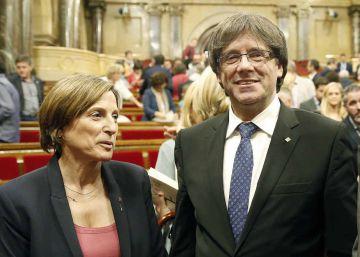 El TSJC notifica a Forcadell y Puigdemont la resolución del Constitucional