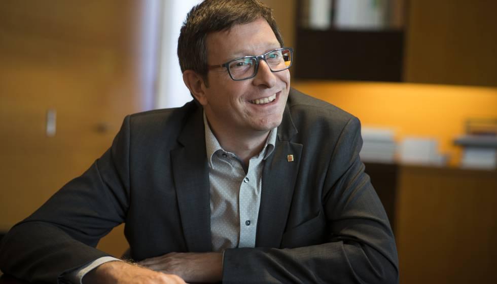 El conseller de Justícia, Carles Mundó.