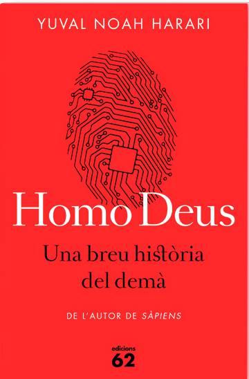 Portada del llibre 'Homo Deus'.