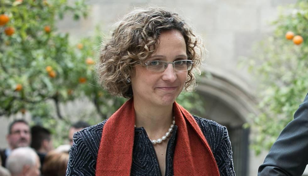 La consellera Meritxell Ruiz.