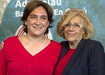 Colau i Carmena, dos projectes socials cara a cara