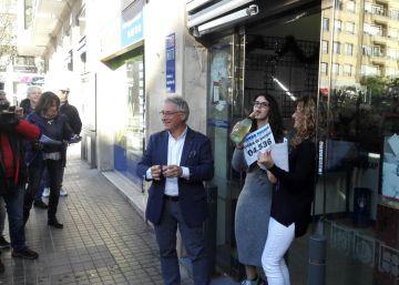 El segundo premio deja 5,6 millones de euros en Cataluña