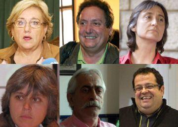 Los miembros del Pacte Nacional por el referéndum