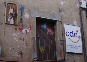 Convergència es el partido con más ataques contra sus sedes