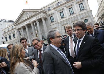 """Francesc Homs: """"S'està volent jutjar la voluntat del poble de Catalunya"""""""