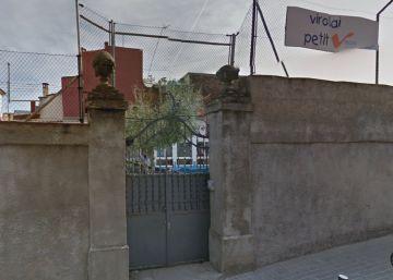 Los Mossos desalojan una escuela okupada por el Banco Expropiado