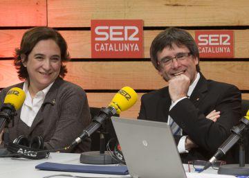"""Puigdemont es manté ferm: """"L'any que ve no seré president"""""""