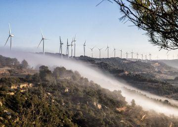 Un lustre sense parcs eòlics mina els objectius de la Generalitat