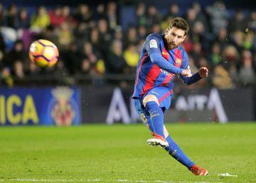 El Barça empata davant el Vila-real i es queda a cinc punts del Madrid
