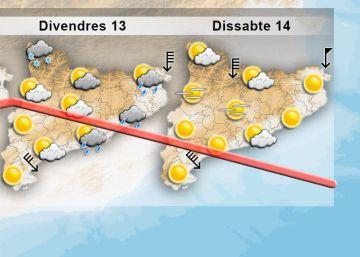 Una onada de fred polar arriba a Catalunya