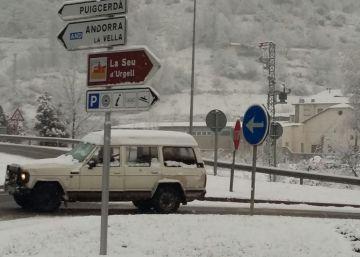Protecció Civil manté l'alerta activada per les nevades al Pirineu