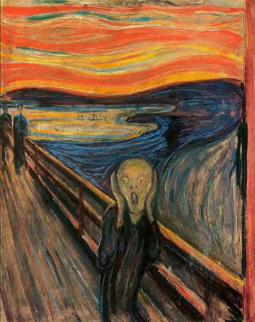 'El crit', de Munch.