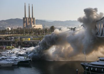 Incendi al Port Fòrum