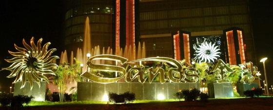 Uno de los casinos de Las Vegas Sands, en el enclave chino de Macao.