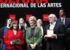 La Comunidad premia a Saura, Luz Casal, Marsé y José María Pou