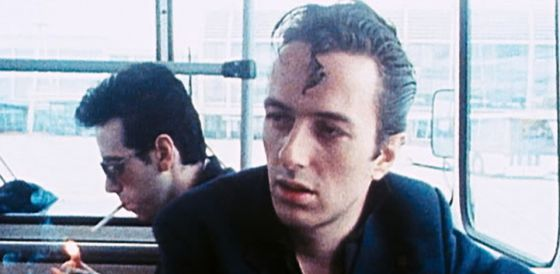 Joe Strummer, líder de The Clash.