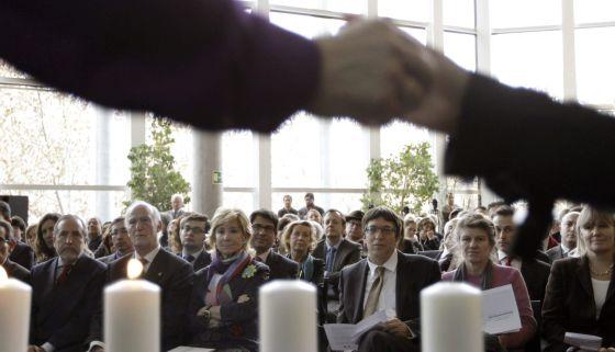 Acto de homenaje a las víctimas del Holocausto en la Asamblea.