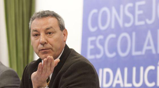 Francisco Álvarez de la Chica, consejero andaluz de Educación.