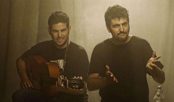 José (izquierda) y David Muñoz, los componentes de Estopa.