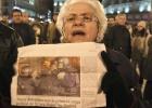 Protesta en Sol por los detenidos frente al Congreso