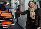 En ambulancia para ayudar a los 'niños ratas'