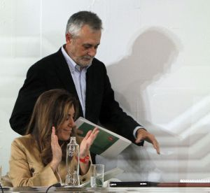 Griñán y Susana Díaz.