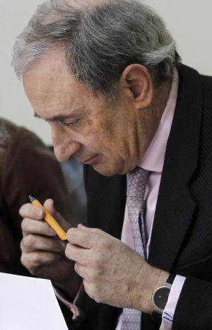 Alfonso Sánchez, director de CRTVG, ayer en el Parlamento.