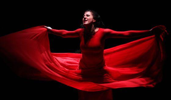 La bailarina María Pagés en un momento de su último trabajo.