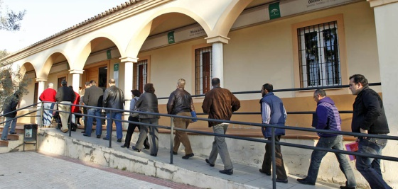 El eterno estigma de la econom a andaluza andaluc a el for Oficina de desempleo malaga