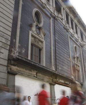 El Palacio de la Música en Gran Vía 35 en 2009.