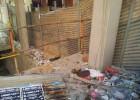 El PSPV denuncia el abandono de una obra en el centro de Alicante