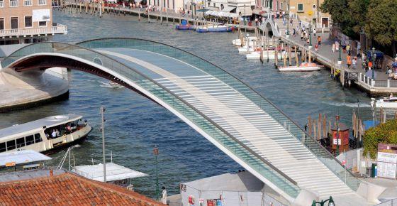 El puente de Calatrava en Venecia, en una imagen de archivo.