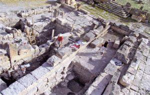 Excavaciones en Túnez.