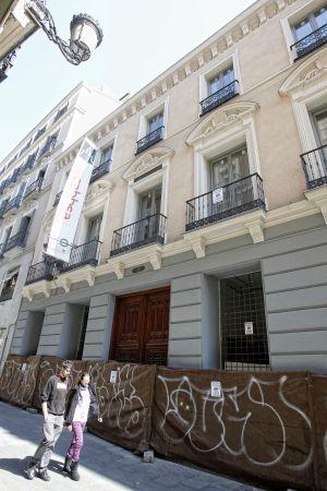 El edificio que albergará en septiembre La Central en Callao.