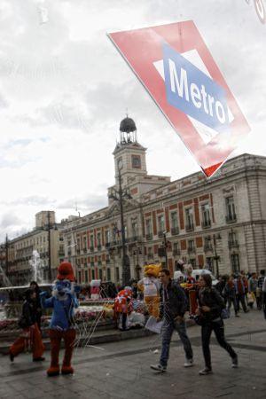 Estación de Metro de Sol.