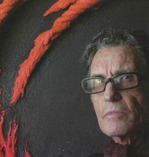 El pintor Laurent Jiménez-Balaguer.