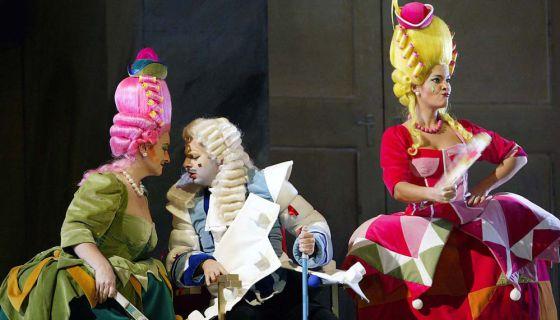 Un momento de la ópera de Comediants 'La cenicienta'.