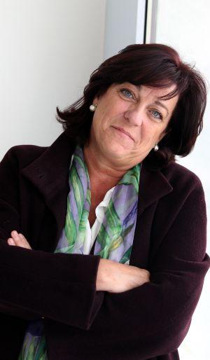 Cristina Blanco, en el paraninfo de la UPV.