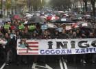 Movilización en protesta por la muerte de Iñigo Cabacas
