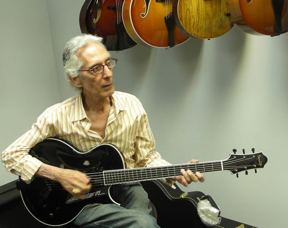 El guitarrista de jazz Pat Martino actúa en la Sala BBK de Bilbao el 27 de abril