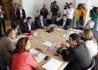PSOE e IU se comprometen a sacar adelante una ley de Transparencia