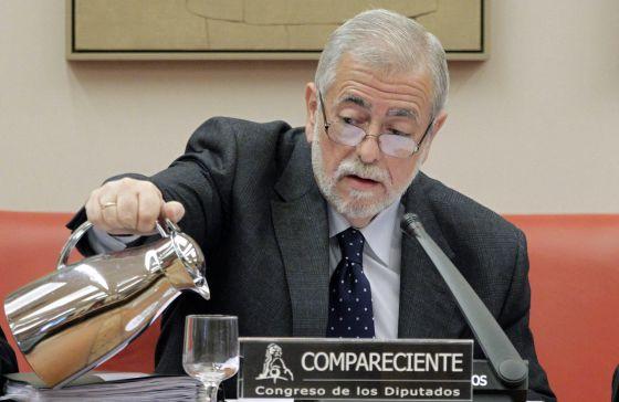 Antonio Beteta, secretario de Estado de Administraciones Públicas, este miércoles en el Congreso.