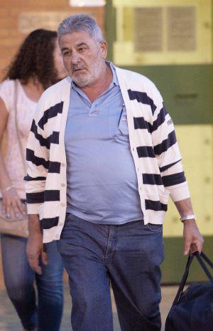 Oubiña, cuando salió de la prisión de Palencia