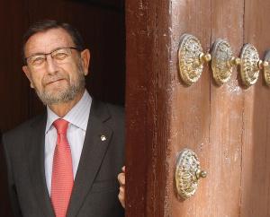 Manuel Gracia, el pasado 28 de febrero.