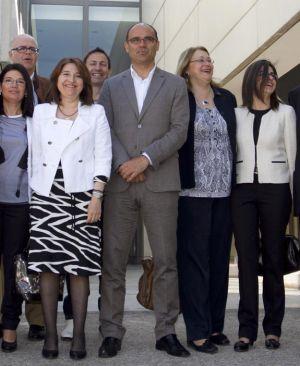 Manuel Palomar y su equipo.