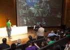 Escolares conectan con el astronauta André Kuipers