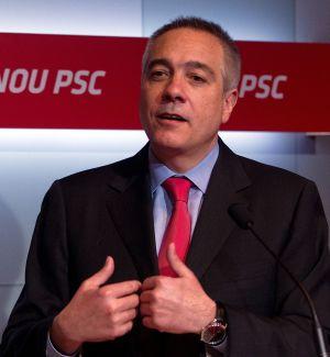 El líder del PSC Pere Navarro.